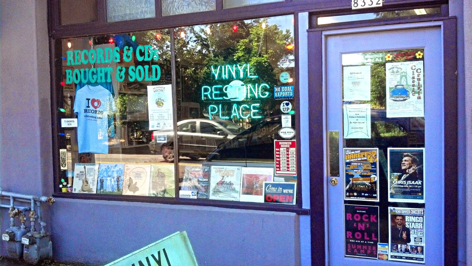 Vinyl Resting Place Record Store Portland Oregon Store Front