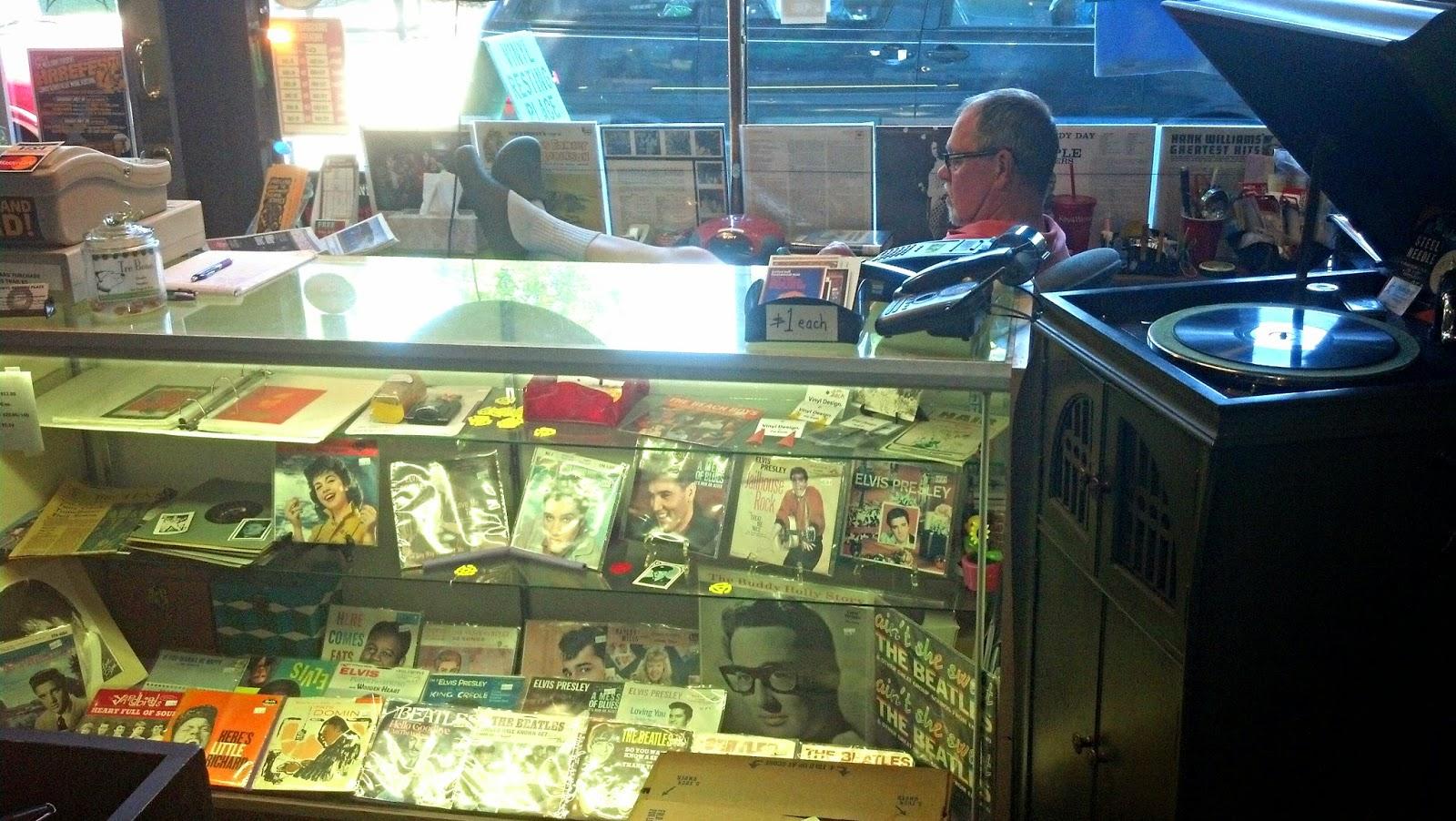 Vinyl Resting Place Portland Oregon - Toby Tobiason