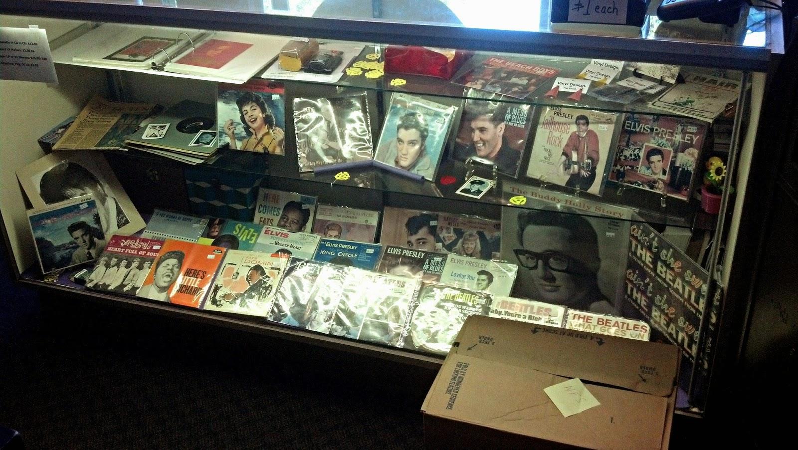 Vinyl Resting Place Portland Oregon collectors items