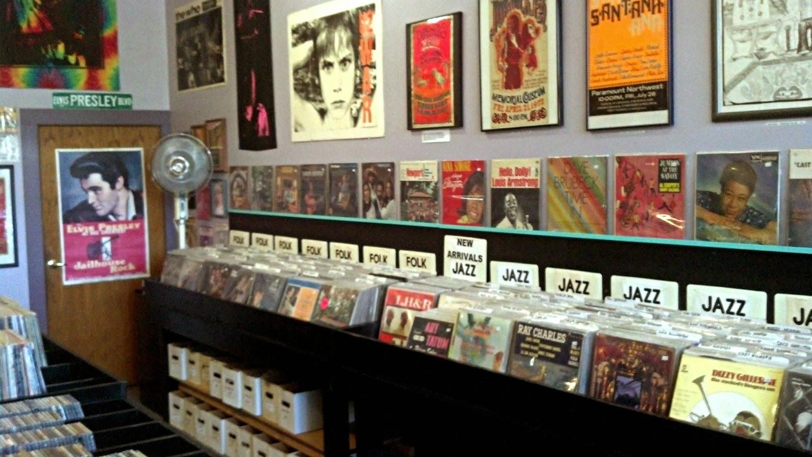 Vinyl Resting Place Portland Oregon store interior