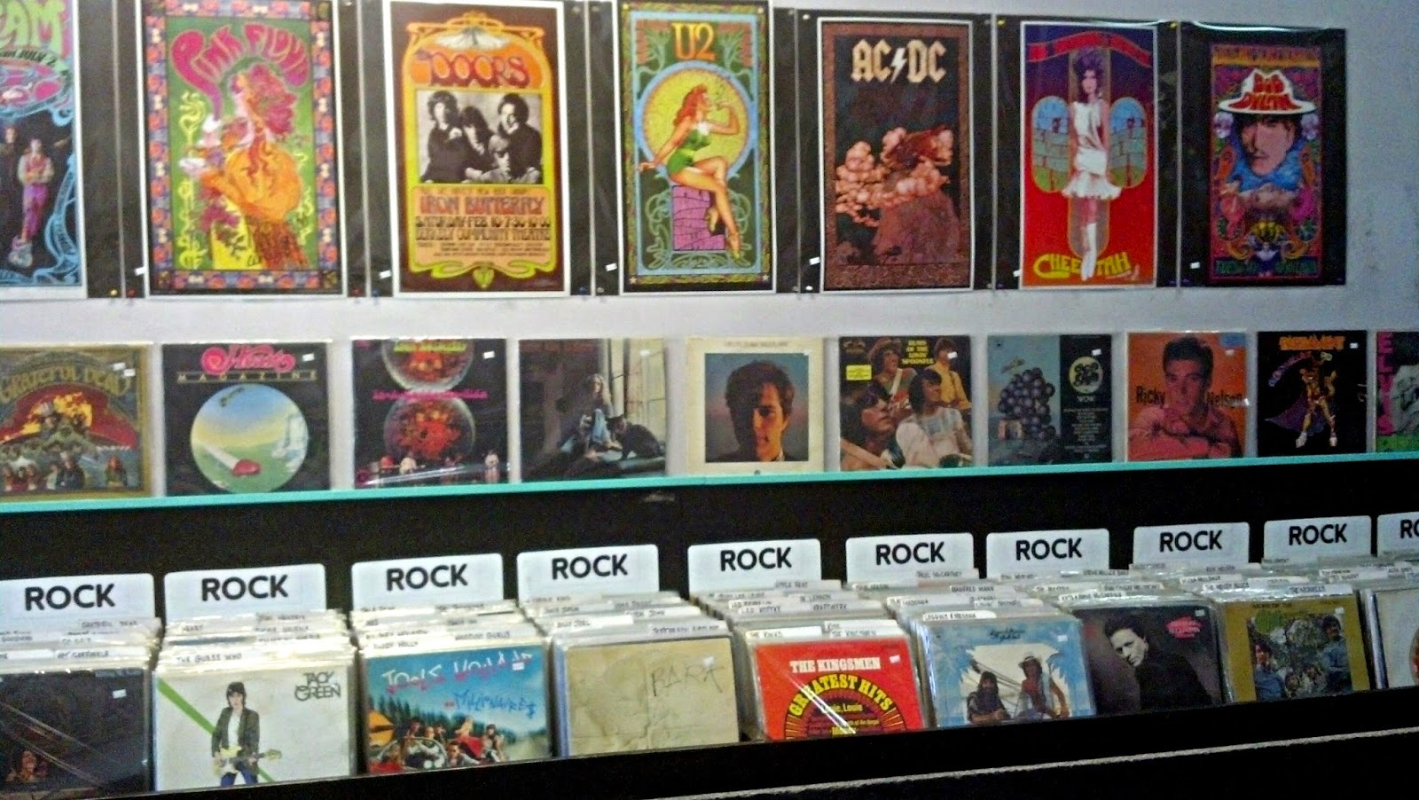 Vinyl Resting Place Portland Oregon concert posters