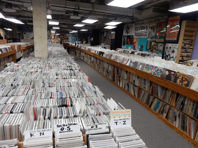 Joe's Record Paradise - Silver Springs, Maryland - store interior