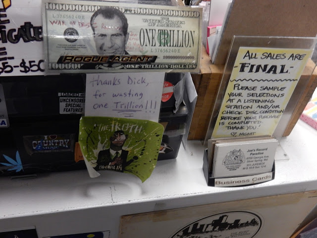 Joe's Record Paradise - Silver Springs Maryland - Richard Nixon