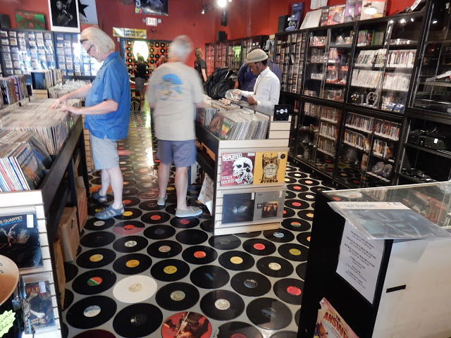 Record Exchange - Silver Spring Maryland - record floor