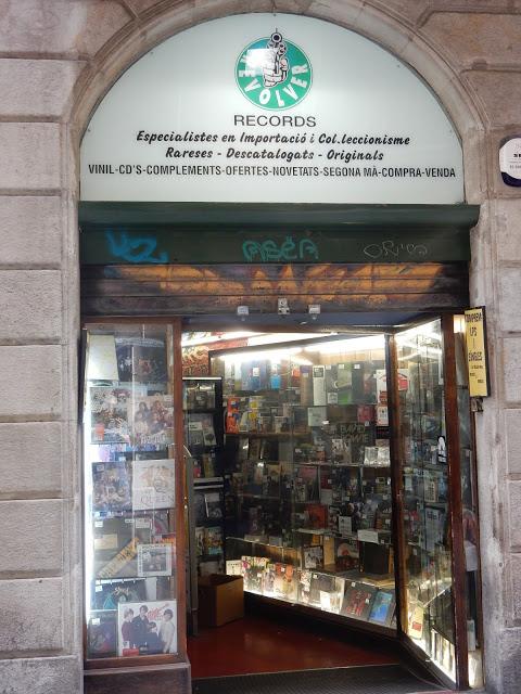 Revolver Records - Barcelona Spain - Store Front